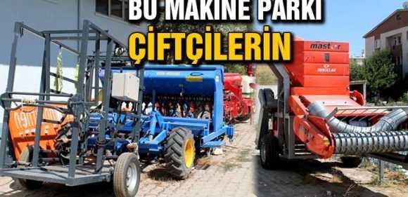 Ortak Makine Parkı Çiftçileri Memnun Ediyor