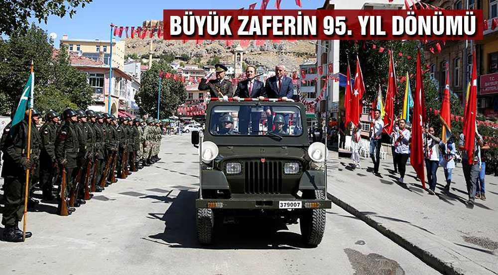 Büyük Zafer'in 95. Yıl Dönümü Törenlerle Kutlandı