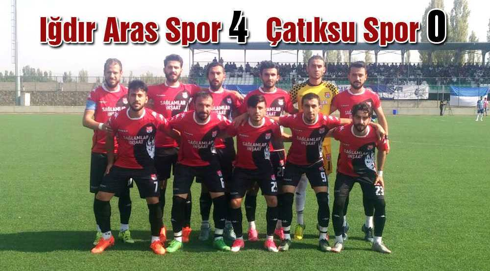 Çatıksuspor İlk Maçından Mağlubiyetle Ayrıldı