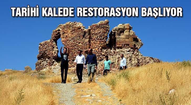 Bayburt Kalesi'nde Restorasyon Başlıyor