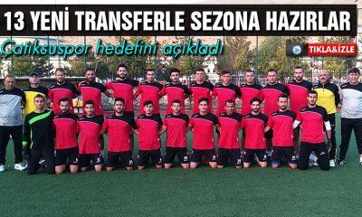 Çatıksuspor BAL Ligine 13 Yeni Transferle Başlıyor