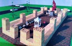 Bayburt'ta Şehit Kadınlar Anıtının Yapımı Başladı