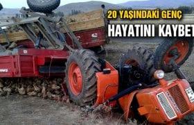Traktörün Altında Kalan 1 Kişi Hayatını Kaybetti