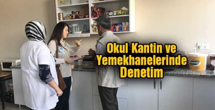Bayburt'ta Okulların Kantin ve Yemekhanelerine Sıkı  Denetim