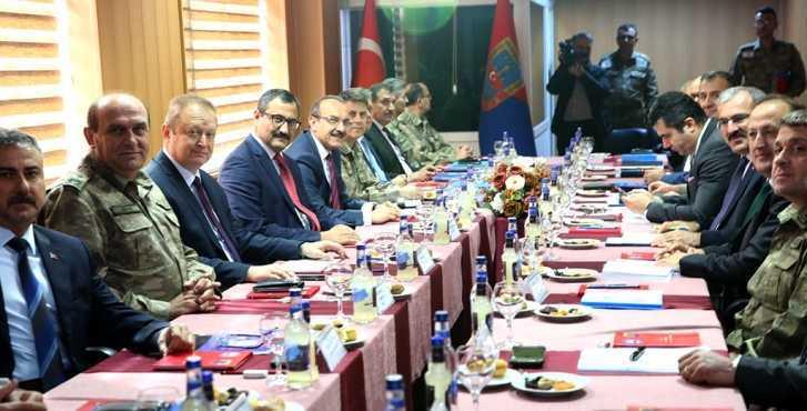 Bölge Güvenlik ve Asayiş Toplantısı Yapıldı