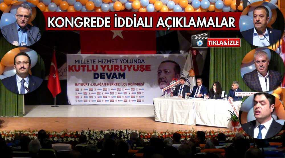 AK Parti Kongresinde İddialı Açıklamalar