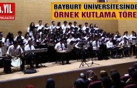 Bayburt Üniversitesinden Muhteşem Cumhuriyet Kutlaması