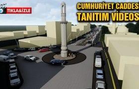 Bayburt Cumhuriyet Caddesi Projesinin Tanıtım Videosu