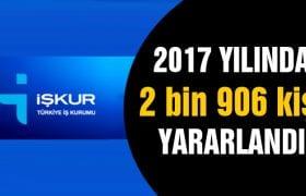 Bayburt'ta İşkur'dan 2 bin 906 Kişi Yararlandı