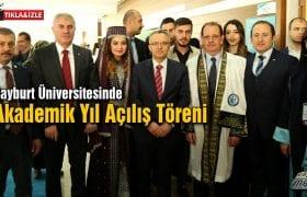 Bayburt Üniversitesi'nden Görkemli Akademik Yıl Açılışı