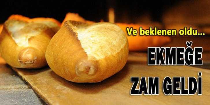 Bayburt'ta Beklenen Oldu, Ekmeğe Zam Geldi