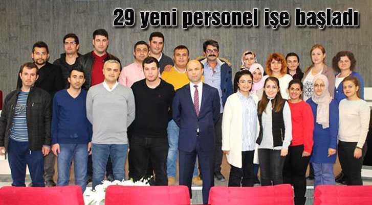 Bayburt Tarımına 29 Yeni Personel Katıldı