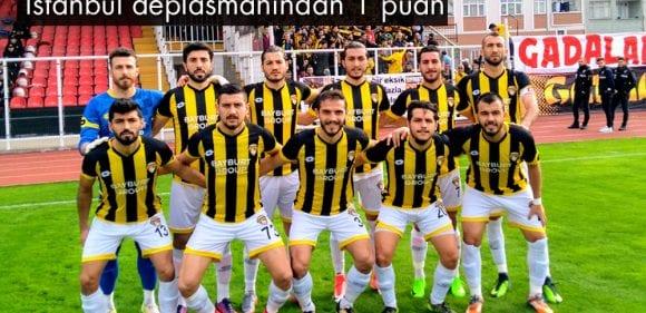 Bayburt Grup İstanbul'dan Bir Puanla Döndü