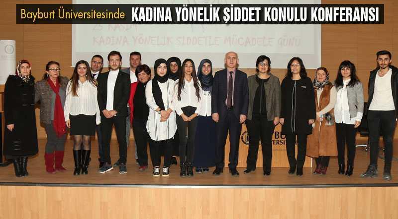 Üniversitesi'nden Kadına Yönelik Şiddet Konulu Konferansı