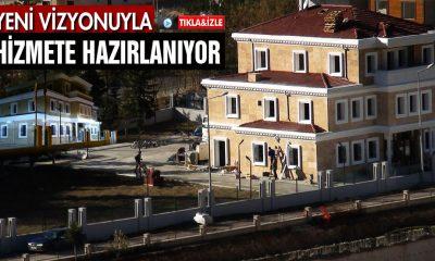 Onarımı Yapılan Bina Yeni Kimliğiyle Hizmete Hazırlanıyor