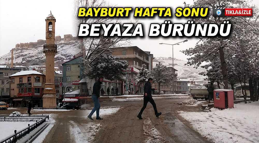 Bayburt'ta Karlı Bir Hafta Sonu