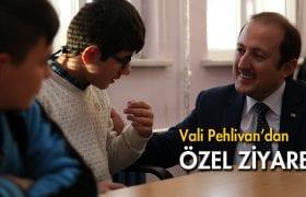 Vali Pehlivan,dan Özel Eğitim Uygulama Merkezi'ne  Ziyaret