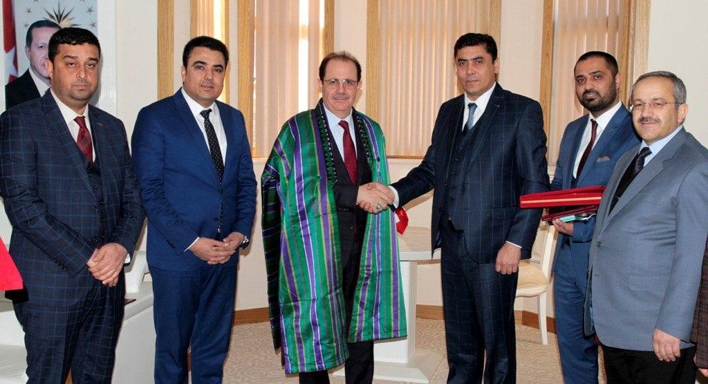 Bayburt ve Jawzjan Üniversiteleri Arasında Protokol İmzalandı