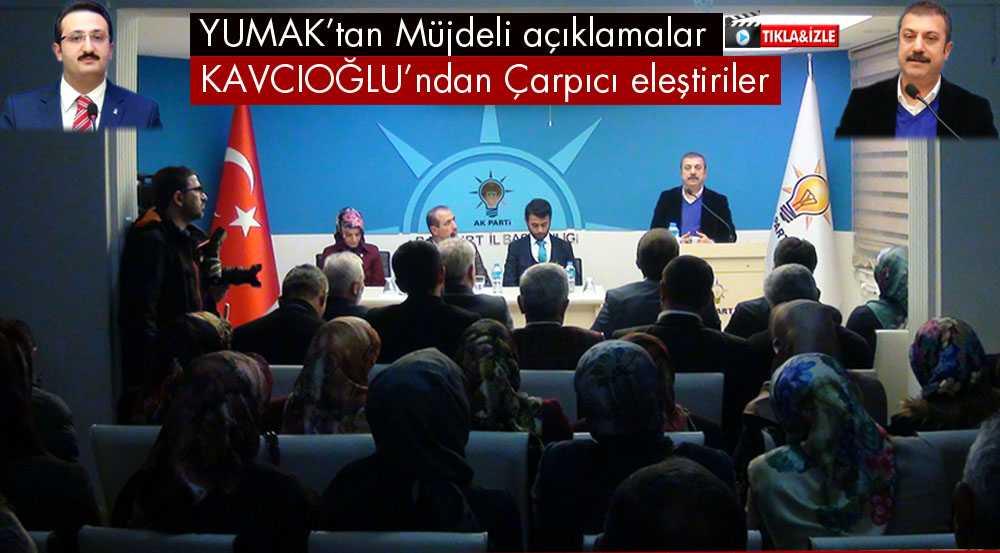Bayburt Milletvekili Kavcıoğlu'ndan Çarpıcı Eleştiriler
