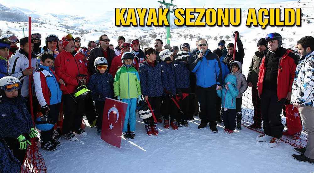 Kop Dağı Kayak Merkezinde Kayak Sezonu Açıldı