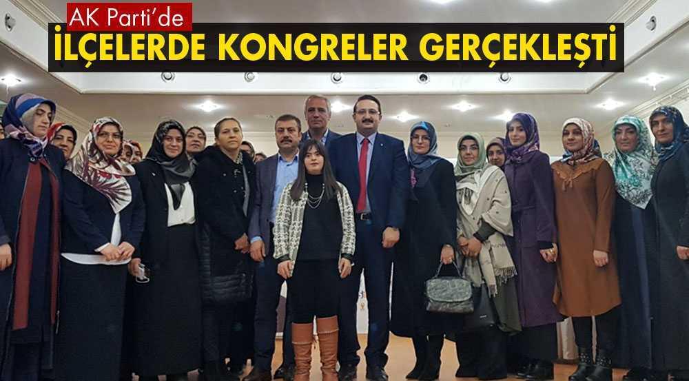 AK Parti, İlçelerde Kadın Kolları Kongrelerini Tamamladı