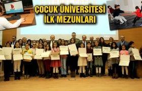 Bayburt Çocuk Üniversitesi İlk Mezunlarını Verdi