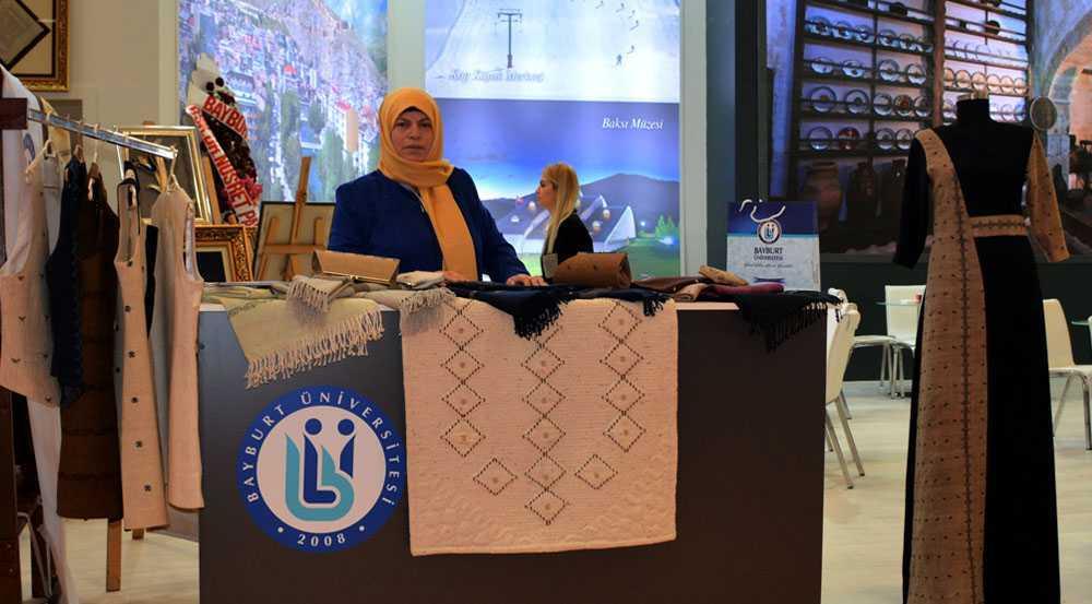 EMITT Fuarı'nda Bayburt Üniversitesi Ürünleri Yoğun İlgi Gördü