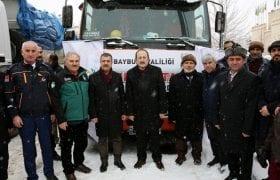 Bayburt'un Yardım Eli Suriye'ye Uzandı