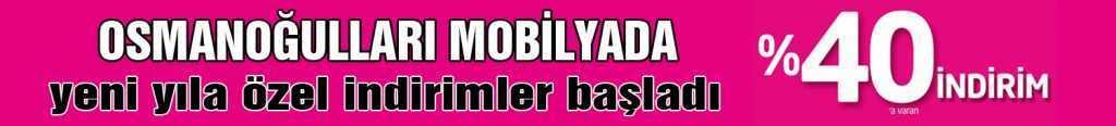 Osman Oğulları Mobilyada Yeni Yıl Fırsatı!
