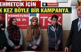 Bayburtlu Öğrencilerden Afrin'deki Mehmetçik'e Anlamlı Destek