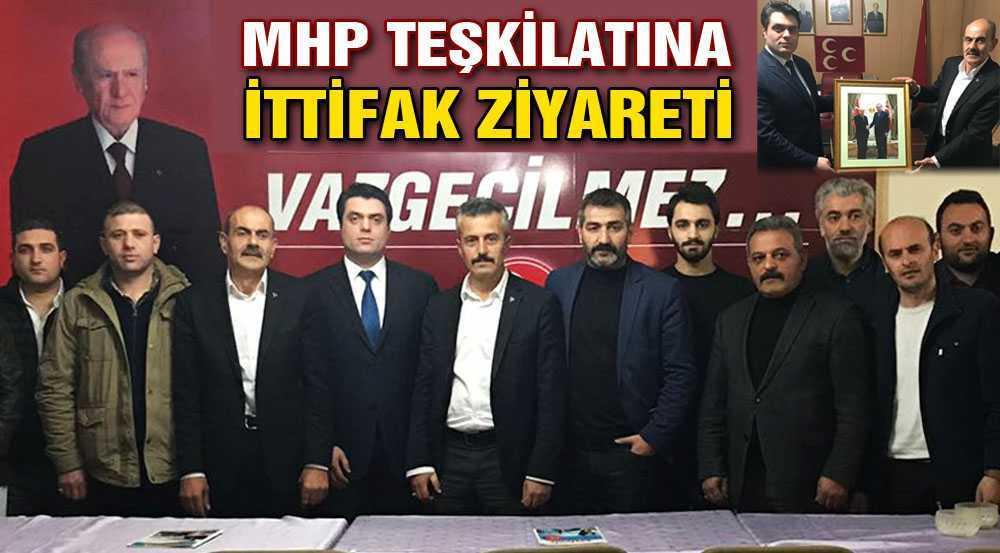 AK Parti'den MHP'ye İttifak Ziyareti