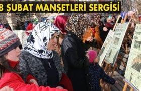 Bayburt'ta 28 Şubat Manşetleri Sergisi Açıldı