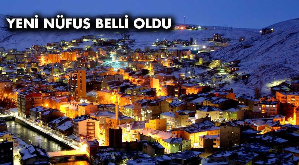 Türkiye'nin Nüfusu Artarken Bayburt'un Nüfusu Azaldı