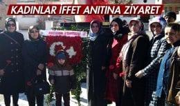 Bayburt Yukarıkırzı Köyünde Kadınlar İffet Anıtına Ziyaret