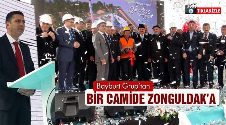Bayburt Grup'tan Zonguldak'a 3 Bin 500 Kişilik Camii