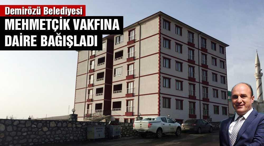 Demirözü Belediyesi Mehmetçik'e Daire Bağışladı