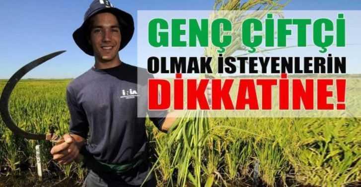 Genç Çiftçilere Destek Müracaatları Başlıyor