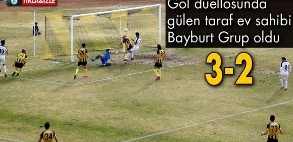 Genç Osman'da, Gol Düellosunu Bayburt Kazandı