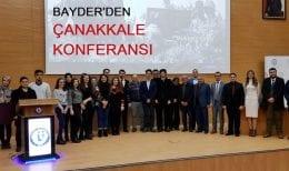 BAYDER'den Çanakkale Konferansı