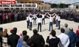 Bayburt'ta Nevruz Bayramı Kutlaması