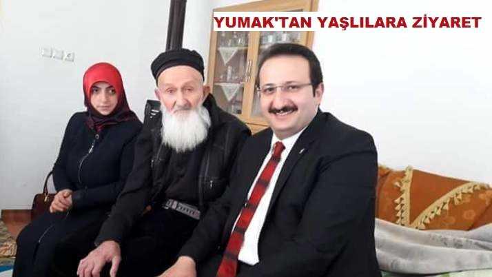 AK Parti İl Başkanı Yumak'tan Yaşlılara Ziyaret