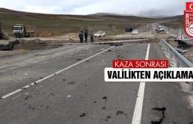 Bayburt'ta 8 Kişinin Öldüğü Kazaya İlişkin Valilikten Açıklama