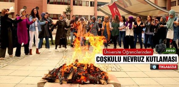 Bayburt Üniversitesi Öğrencilerinden Coşkulu Nevruz Kutlaması