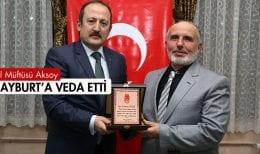 Emekli Olan İl Müftüsü Aksoy, Bayburt'a Veda Etti