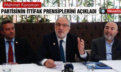 Saadet Partisi İttifak Prensiplerini Açıkladı