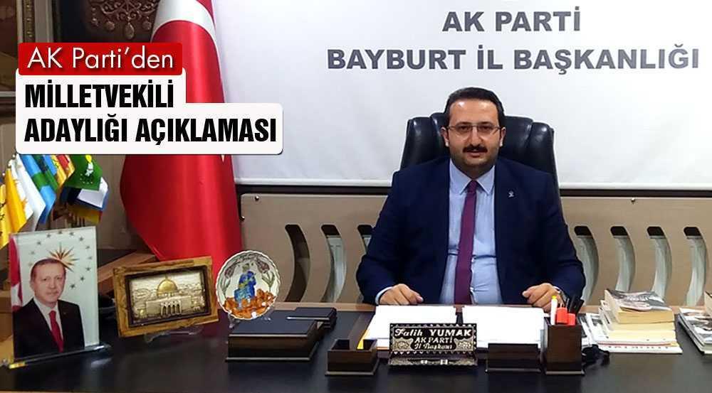 AK Parti'den Milletvekili Adaylığı Başvuru Açıklaması