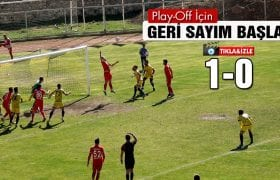 Bayburt'ta Play-Off Bayramı Erken Başladı
