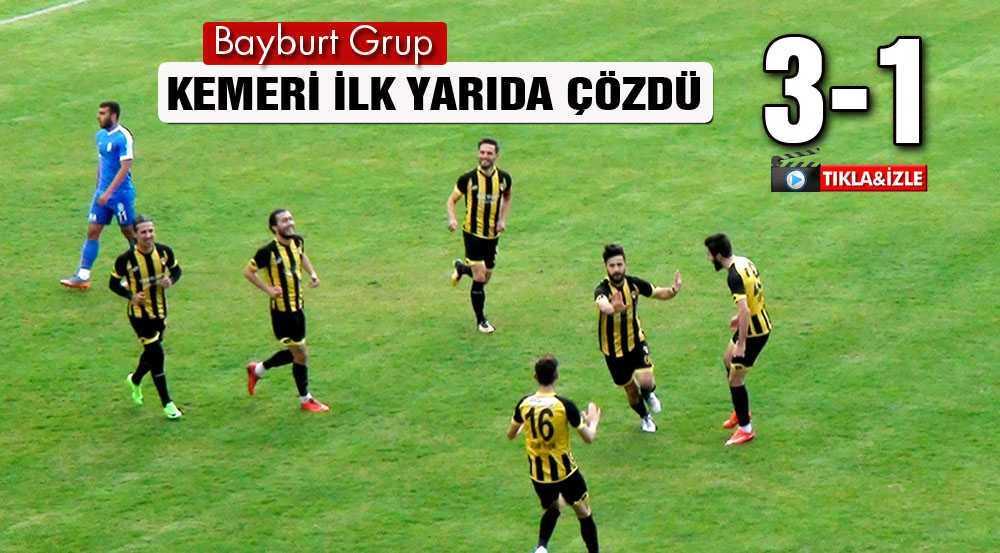 Bayburt Grup, Play-Off Biletini Hak Ederek Kesti