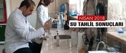 Bayburt'ta 2018 Nisan Ayı İçme Su Tahlil Sonuçları Açıklandı