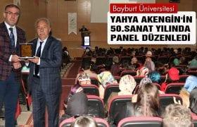 Yahya Akengin'in 50. Sanat Yılında Panel Düzenlendi